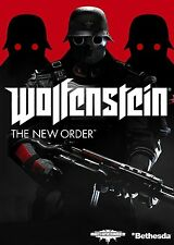WOLFENSTEIN: THE NEW ORDER - Steam chiave key - Gioco PC Game - ITALIANO - ROW