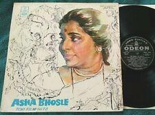 Asha Bhosle - Top Film Hits LP Odeon MOCE.4136, India press bollywood VG/VG+