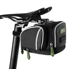 RockBros Bicycle Saddle Seat Bag Road Bike Cycling Waterproof Bag Blac