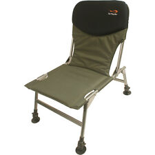 TF Gear Chill Out Fishing Chair Adjustable Legs and Mud Feet Lightweight TFG