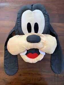 "Vintage 1990's Disney GOOFY HEAD 21"" Pillow Plush! Charecter Head Plush RARE"