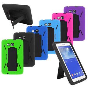 "Heavy Duty ARMOR Box Case Skin Cover For Samsung Galaxy Tab E Lite 7.0 / 3 7"""