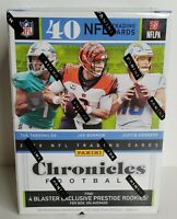 🔥 NEW IN HAND! 2020 CHRONICLES Football NFL BLASTER BOX! 🔥 Herbert Burrow Tua+