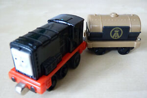 DEVIOUS DIESEL & OIL TANKER, Excellent Condition Take n'Play Thomas.