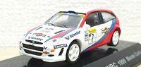 1/64 CM's 1999 FORD FOCUS WRC C.McRae #7 Rally Monte Carlo diecast car model
