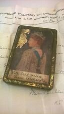 WW1 Alexandra Gift Tin to Soldiers with original letter