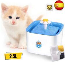 ADOV Fuente para Gatos, 2.5L Dispensador Automático de Agua El (Fuente Gatos)