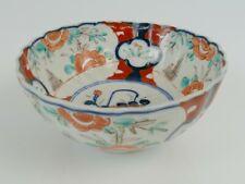 Antique Japanese Imari Scalloped Bowl | 134