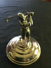 Antique Knickered Golf Figure Trophy Wallace