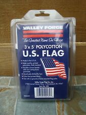 New Valley Forge 3' x 5' Polycotton United States American U.S. Flag