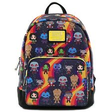 Loungefly Marvel Guardians of the Galaxy Chibi Faux Leather Mini Backpack