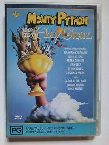 Monty Python And The Holy Grail DVD - Very Good Condition - Free Post - R:4