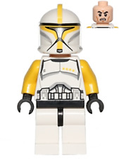 NEW LEGO CLONE TROOPER COMMANDER FROM SET 75019 STAR WARS EPISODE 2 (SW0481)
