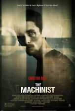 CHRISTIAN BALE THE MACHINIST 27X41 AUTHENTIC DOUBLE SIDED THEATRE POSTER