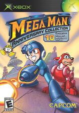 Mega Man Anniversary Collection (Microsoft Xbox, 2005) Complete VGC, Fun!