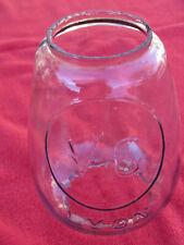 Ancien verre lampe tempête VG LYON