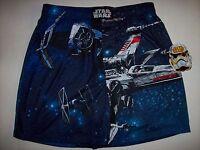 Star Wars Underwear Mens One Pair Boxer Select S M L XL Disney Blue X-wing NWT