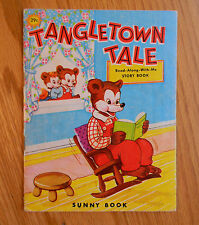 Vtg Tangletown Tale Read along with Me Story See and Say Picture Sunny Book 1969