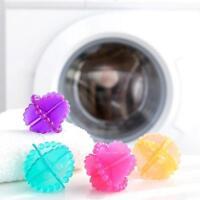 Magic Reusable Laundry Wash Machine Tumble Dryer Plastic Cleaning Balls 10Pcs