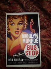 Marilyn Monroe Bus Stop Movie Poster 1956 Original British Near Mint Condition