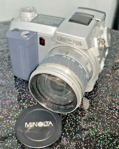 Minolta DiMage 7 5.1mp Digital Bridge Camera with 7x Optical Zoom & manual, 2001