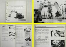 Werkstatthandbuch Case Poclain 488C Bagger Schulungshandbuch Training 09/1989