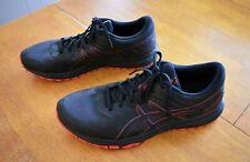 Men's Black & Red Asics Gel Scram 5 Athletic Shoes - Size 13