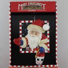 Mary Engelbreit Christmas Collection Santa Ornament-Me174B