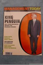 Management Today Magazine: August 2003, John Makinson, ExCon