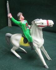 Figurine CYRNOS - COW-BOY A CHEVAL Années 50 - Vert