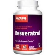 Resveratrol, 100mg x 60VCaps, Jarrow Formulas, 24Hr Dispatch