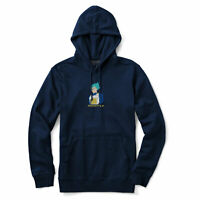 Primitive x Dragon Ball Z Super Men's Super Vegeta Long Sleeve Hoodie Navy Bl...