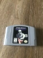 Star Wars Shadows of the Empire - Authentic N64 Nintendo 64 Game