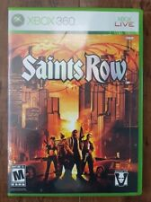 Saints Row (Microsoft Xbox 360, 2006) XBOX ONE COMPATIBLE