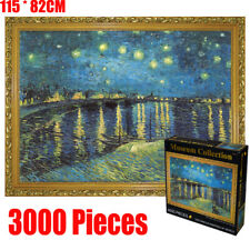 3000 Pieces Large Jigsaw Puzzle Starry Night Sky Van Gogh Early Education Toy