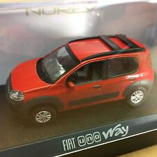 Fiat Uno Way  2010  Red   Norev item 772961 item  1:43