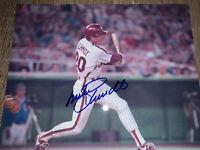 Mike Schmidt Hand Signed Autographed 8x10 Philadelphia Phillies Photo W/COA HOF