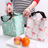 Animal Lunch Bags Picnic Insulated Lunchbox Kids Adult Thermal Cooler Tote Bag