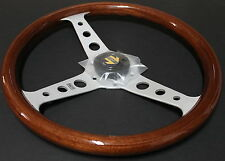MOMO Steering Wheel - INDY Mahogany Wood