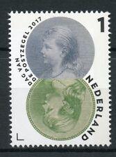 Netherlands 2017 MNH Natl Day of Stamp Queen Wilhelmina 1v Set Royalty Stamps