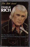 Charlie Rich The Rich Sound Vintage (1984) Audio Cassette Tape