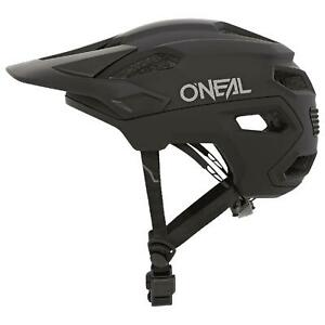 O'Neal Trailfinder Solid Fahrrad MTB Helm Schwarz Halbschale Mountain Bike