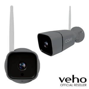 VEHO CAVE FULL HD 1080P OUTDOOR WIRELESS IP CAMERA | FIXED - GREY - VHS-010-OC