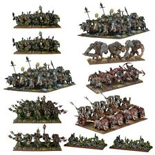 Orc Mega Force - Kings of War - Mantic Games - Warhammer Orcs and Goblins