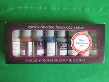 Vallejo Juego De Colores Extra Opaco Uñas Pintura Set 72294-Sin Usar