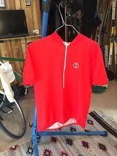 5f92ea64d Vintage Large Schwinn Red Cycling Jersey made in Italy Stingray S