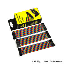120Pcs Dupont Jumper Wire Male to Male to Female to Female Cable Kit for Arduino
