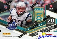 2018 Panini Donruss Elite Football EXCLUSIVE Factory Sealed Blaster Box-AUTO/MEM
