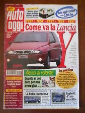 AUTO OGGI n°46 1995 Alfa Romeo 145 Quadrifoglio Audi A4 Supertouring  [P71]