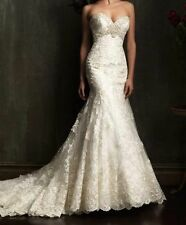 New Mermaid White/Ivory Wedding Dress Bridal Gown Size 6 8 10 12 14 16 18 20 22+